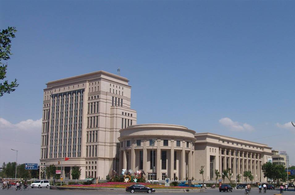 直播吧官网高级人民法院审判综合楼