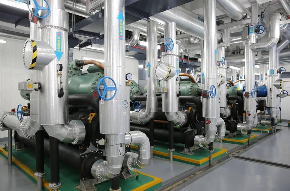 中央空调设备安装