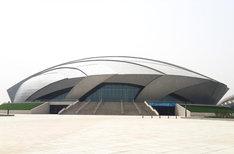 天津健康产业园体育基地自行车馆