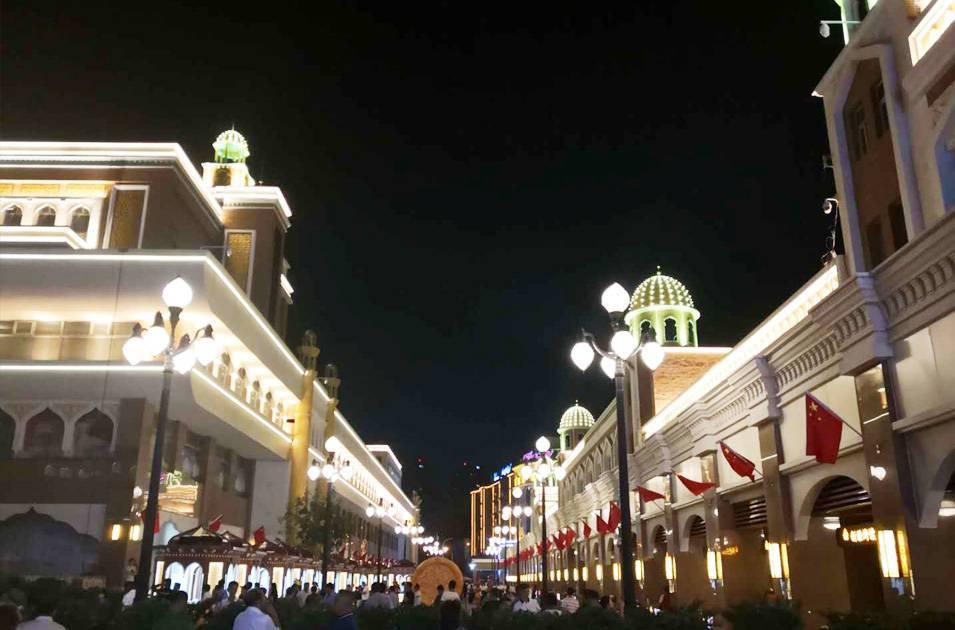 新疆首府靓化工程