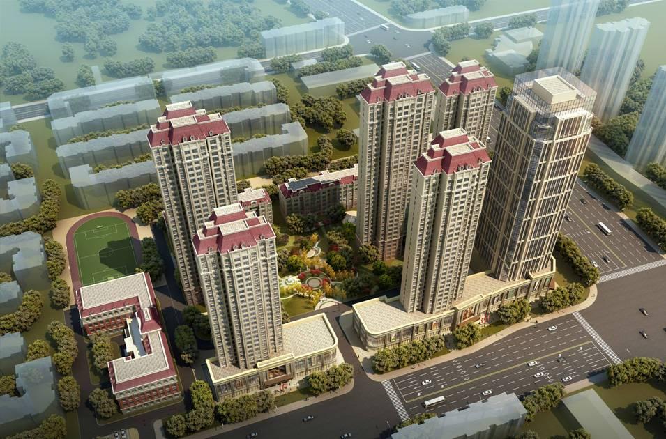 晨阳道壁板厂住宅项目
