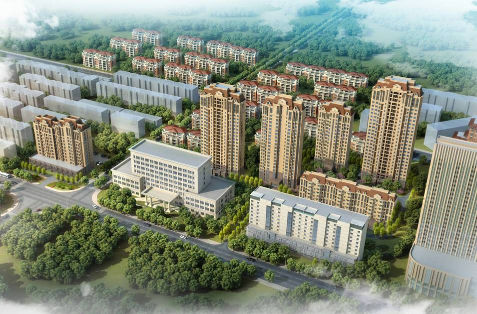 育梁道(中德职业技术学院)地块住宅项目