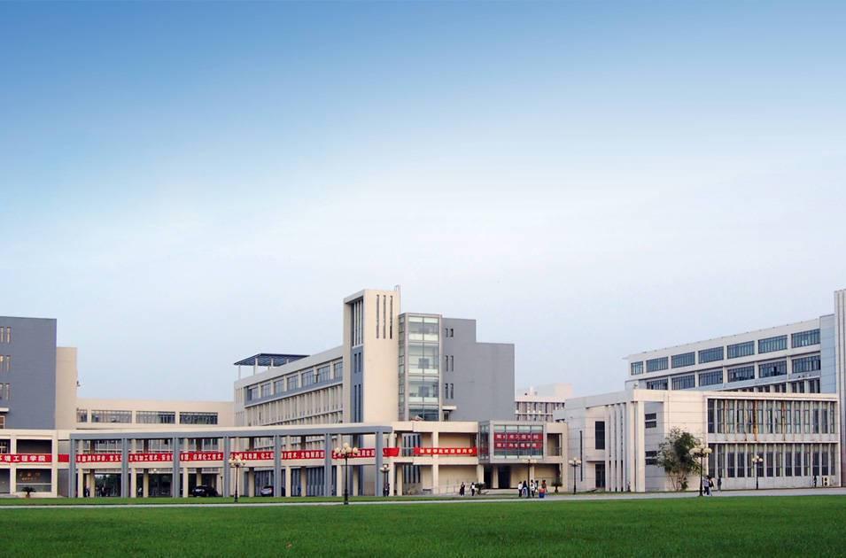 天津职业大学教学楼、图书馆